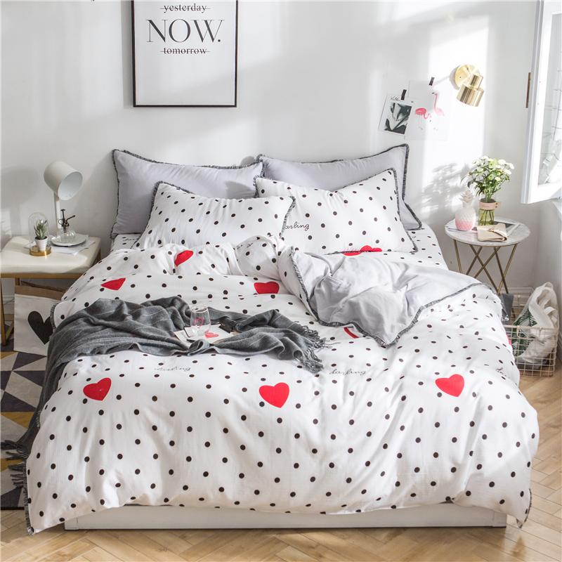 cute king size comforter sets Girls Kids Coon Cute Bedding Set Twin Queen King Size Bed Set  cute king size comforter sets
