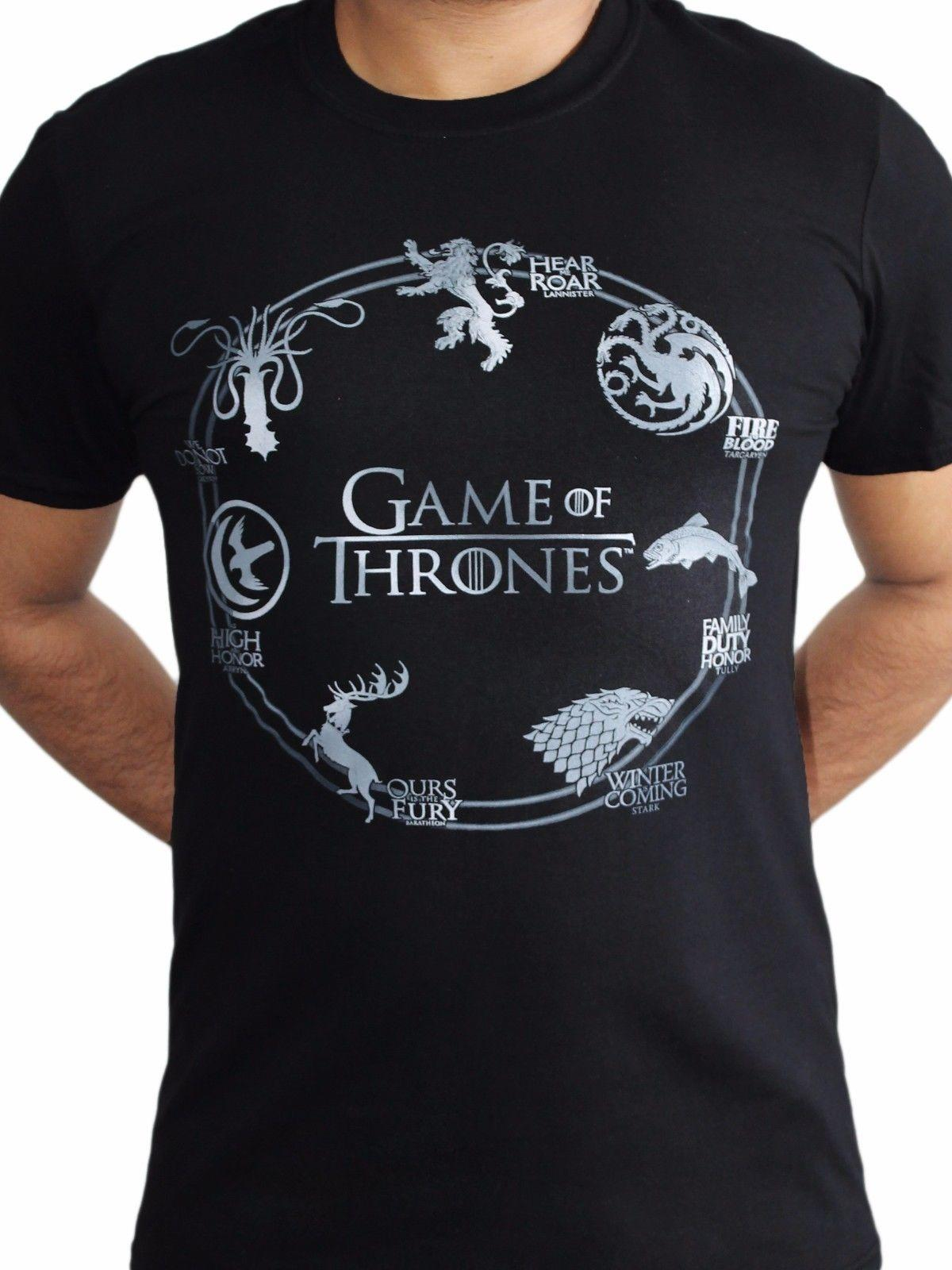 Großhandel Game Of Thrones Silber Sigils Haus Crests Stark Lannister