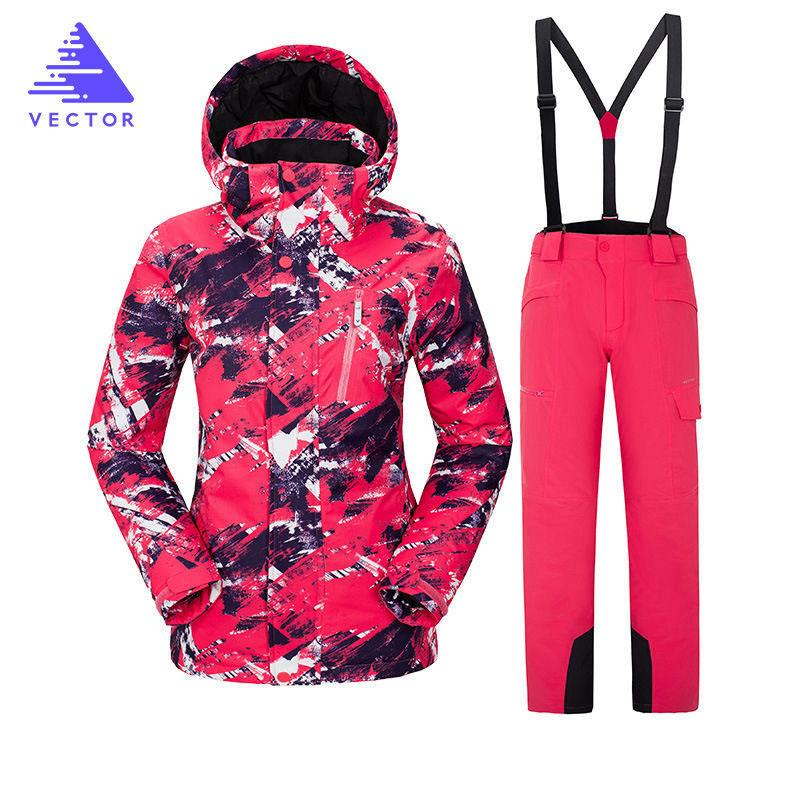 adac0ec9ad 2019 Ski Suit Women Brands 2018 High Quality Skiwear Windproof Waterproof  Female Snow Pants Warm Male Winter Outdoor Snowboard Suit From Shinyday