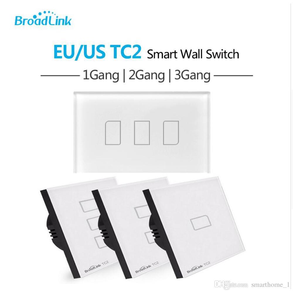 Broadlink TC2 EU US Standard 1 2 3 Gang Way Touch Light
