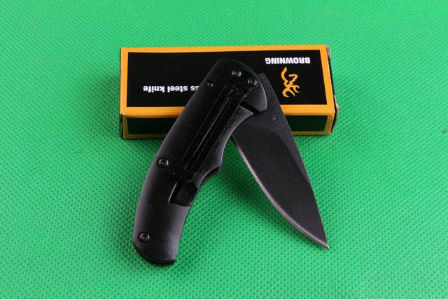 Special offer Browning 338 FA15 Pocket Folding knife Outdoor camping hiking Small folding knife knives with original paper box pack