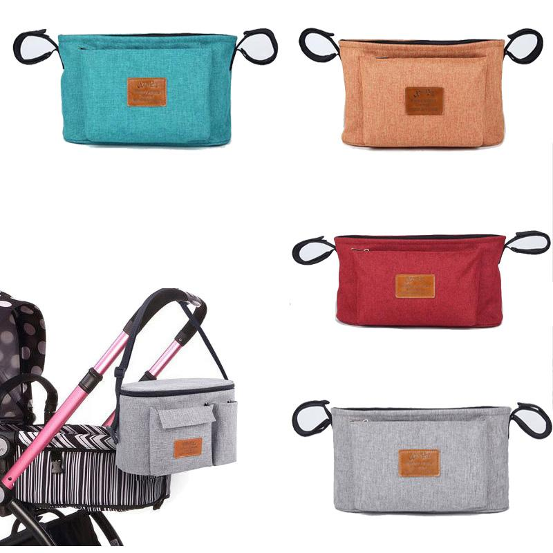Baby diaper bag for wheelchairs Changing Carriage Hanging Basket Storage Nappy Maternity Bag for a stroller
