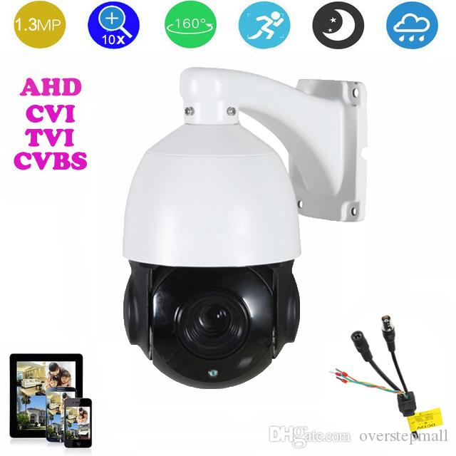 4.5-inch AHD/CVI/TVI/CVBS HD PTZ camera Middle Speed dome Camera 1.3MP 10x Auto zoom IR 50m outdoor camera