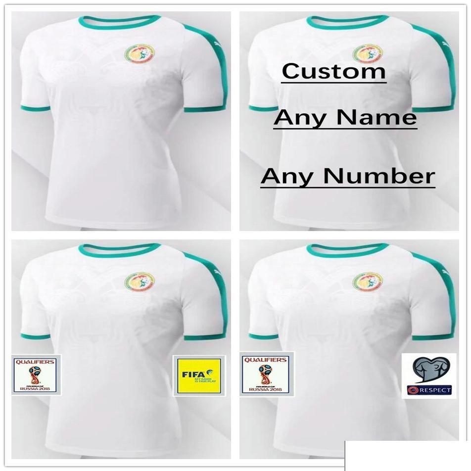 2018 World Cup Senegal Jerseys 10 MANE Blank Customized Any Name Number Home  Green Custom Soccer Football Camiseta De Futbol Shirt Uniform UK 2019 From  ... 4bcae761b