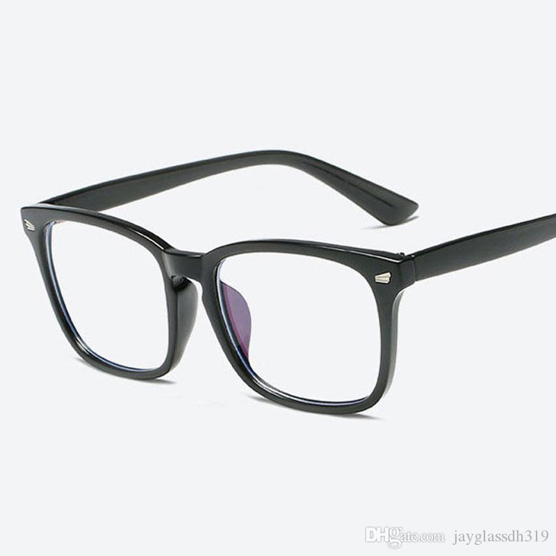 2fb369e31ca Brand Designer Spectacle Optical Glasses Frame Good Quality Anti Radiation  Computer Glasses Glasses Frames For Women Men Oculos Sunglass Cheap  Sunglasses ...