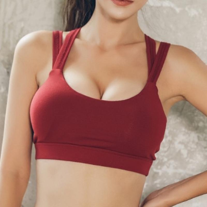 2019 Women Push Up Sports Bra Gym Workout Shockproof Underwear Tops Femme  Fille Fitness Running Tights Active Wear Sexy Yoga Bra From Jinzoug 90743c5c8a6
