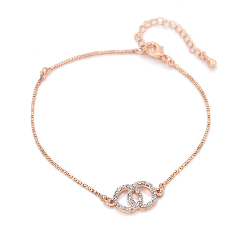 fashion circle charm anklets foot jewelry women sexy barefoot sandals ankle bracelet summer beach gold chain lady ankle bracelets
