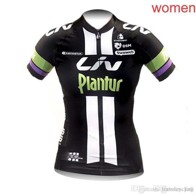 2018 Liv Women Cycling Jersey Short Sleeve Bike Bicycle Clothing Summer  Breathable Cycle Sportwear Shirt Only L0902 LIV Cycling Bike Online with ... 5185dbe71