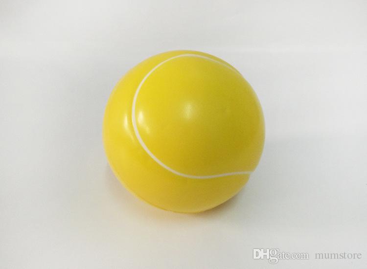 Fidget Wrist Exercise Stress Noverty Toy Balls Sprots Balls Mini Soft PU Sports Balls Basketball Football Tennis Baseball For Kids Fun Toys