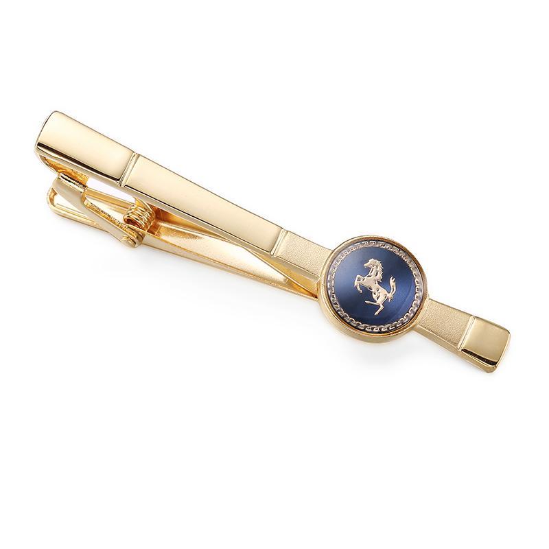 6dd41dd90a50 High quality fashion business tie clip brand horse tie clip men's wedding  shirt pin accessories
