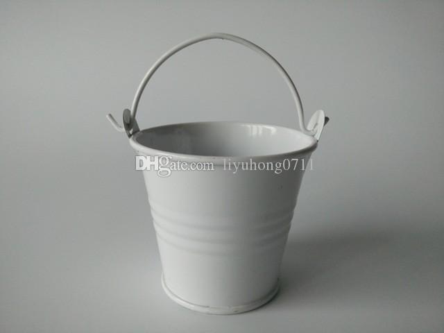 De Metal Mini Baldes Favores Do Casamento, mini baldes, caixa de doces de estanho, pacote de presente favor doce caixas bom suculentas plantador