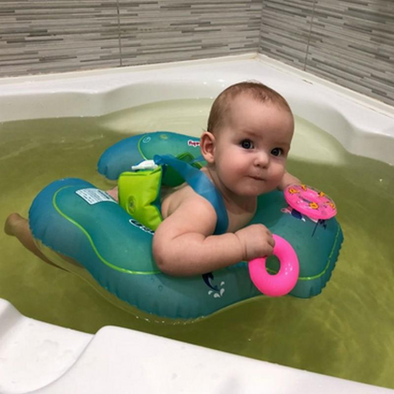 2018 Baby Swimming Ring Floating Children Waist Inflatable Floats ...