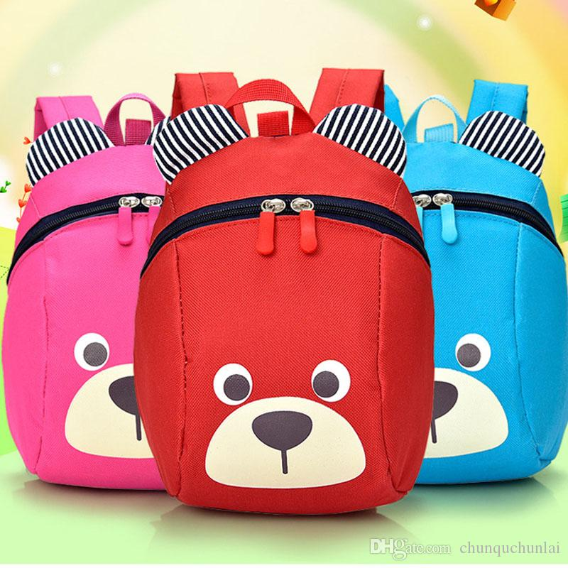 Children Anti Lost Bag For Baby Aged 1-3 Years Old Safety Canvas Harness Toddler Kids Cartoon Strap Bag Backpack For Girls Boys