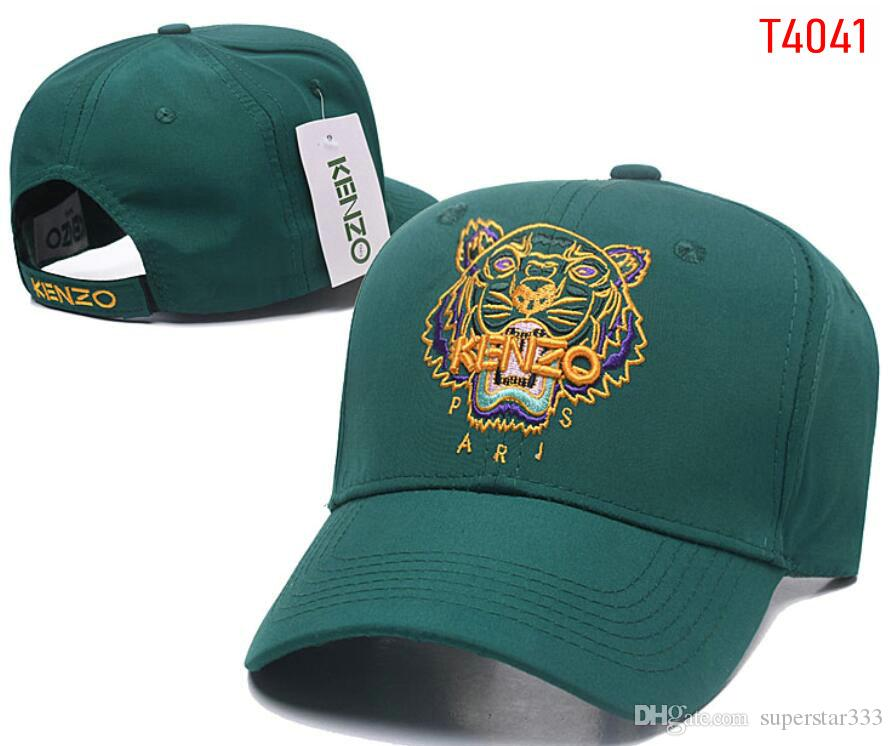8d2e81ce 2019 High Quality Fashion KENZ Ball Caps Tiger Design Baseball Cap Yeezus  God Hats For Men Women Bone Adjustable Snapback Luxury Hat Free Ship 01  From ...