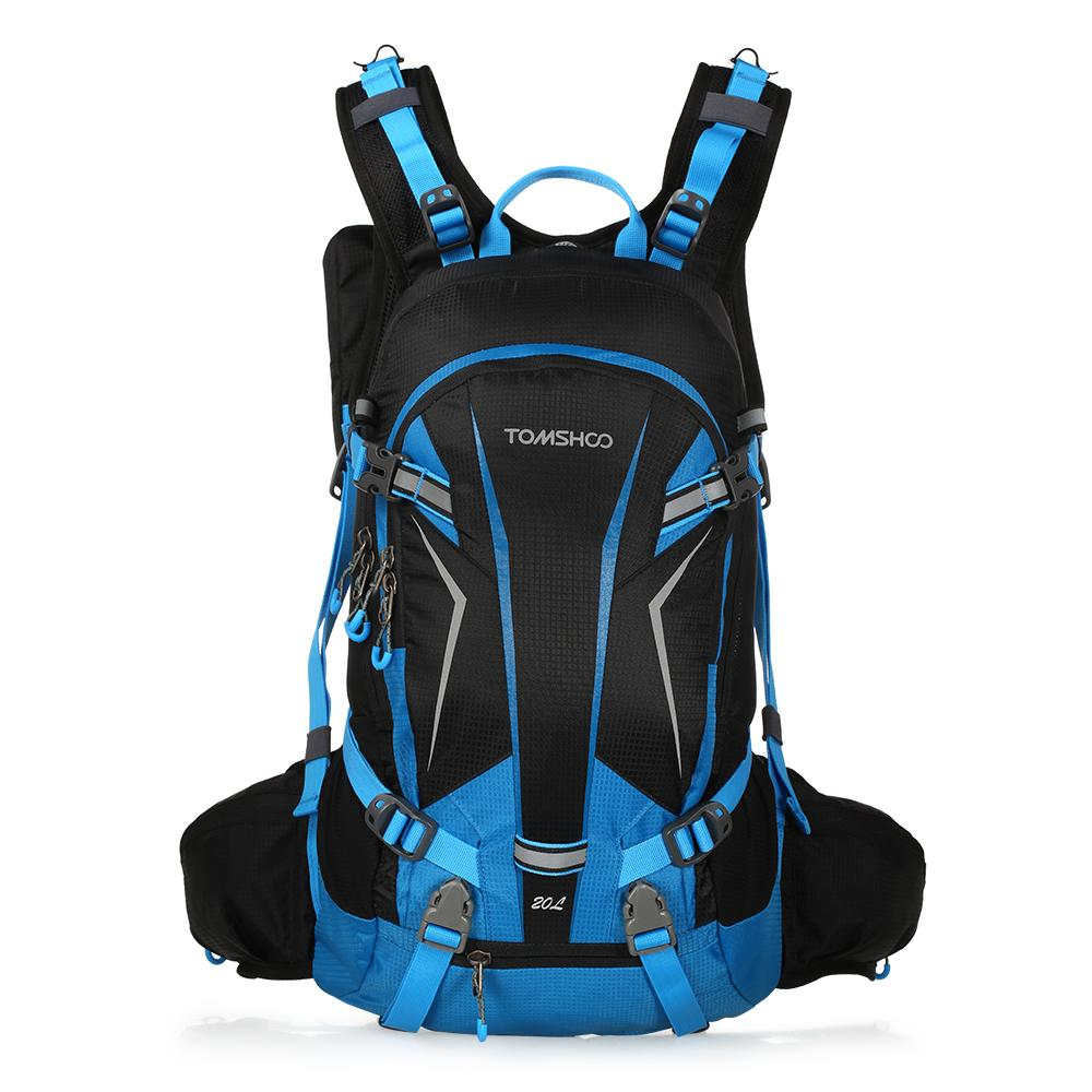 tomshoo  TOMSHOO 20L Waterproof Cycling Bag Outdoor Camping Hiking Backpack ...