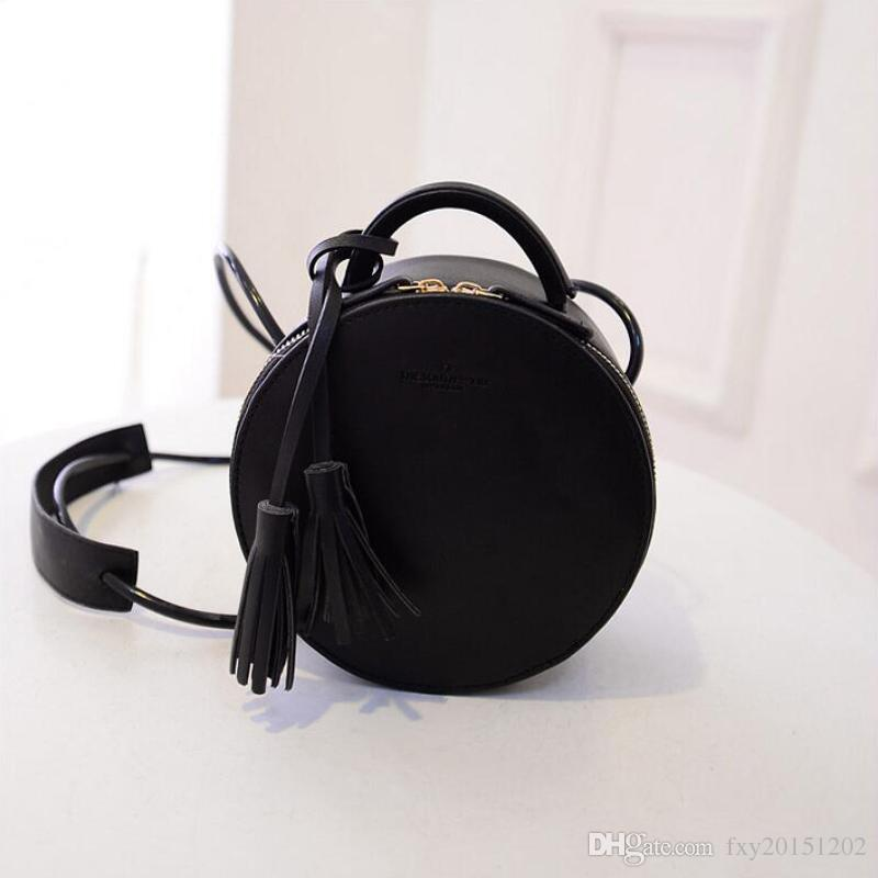 a5197bf8409e 2018 New Mini Round Bag Fashional Female Handbag Japan And Korean Style  Cross Body Bags All Match Single Shoulder Bags For Women CX133 Purses  Wholesale ...