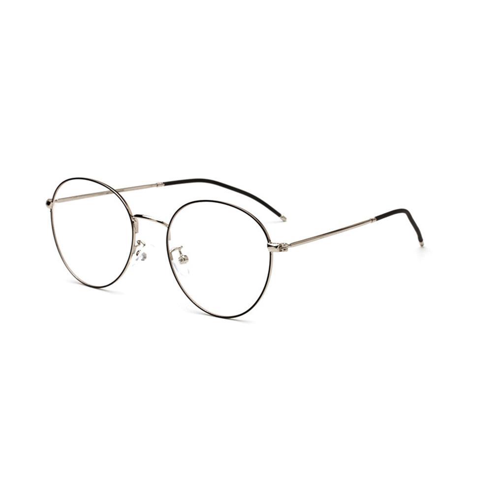 888095815c Compre Gafas De Marco De Anteojos Retro Negro Marcos Gafas Claras Gafas Para  Hombre Redondas De Metal Transparente Gafas 2350OLO A $24.38 Del Zhijin ...
