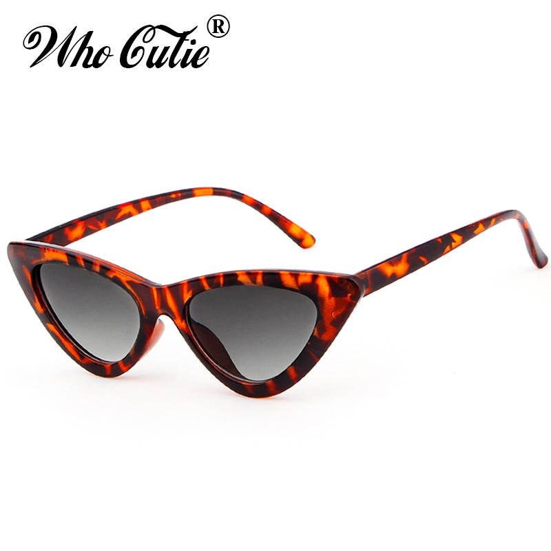 9515bfa36c 2018 Women Bowknot Triangle Cat Eye Sunglasses UV400 Small Narrow Lens  Vintage Tortoise Shell Frame Cateye Sun Glasses Retro Shades Sunglasses At  Night ...