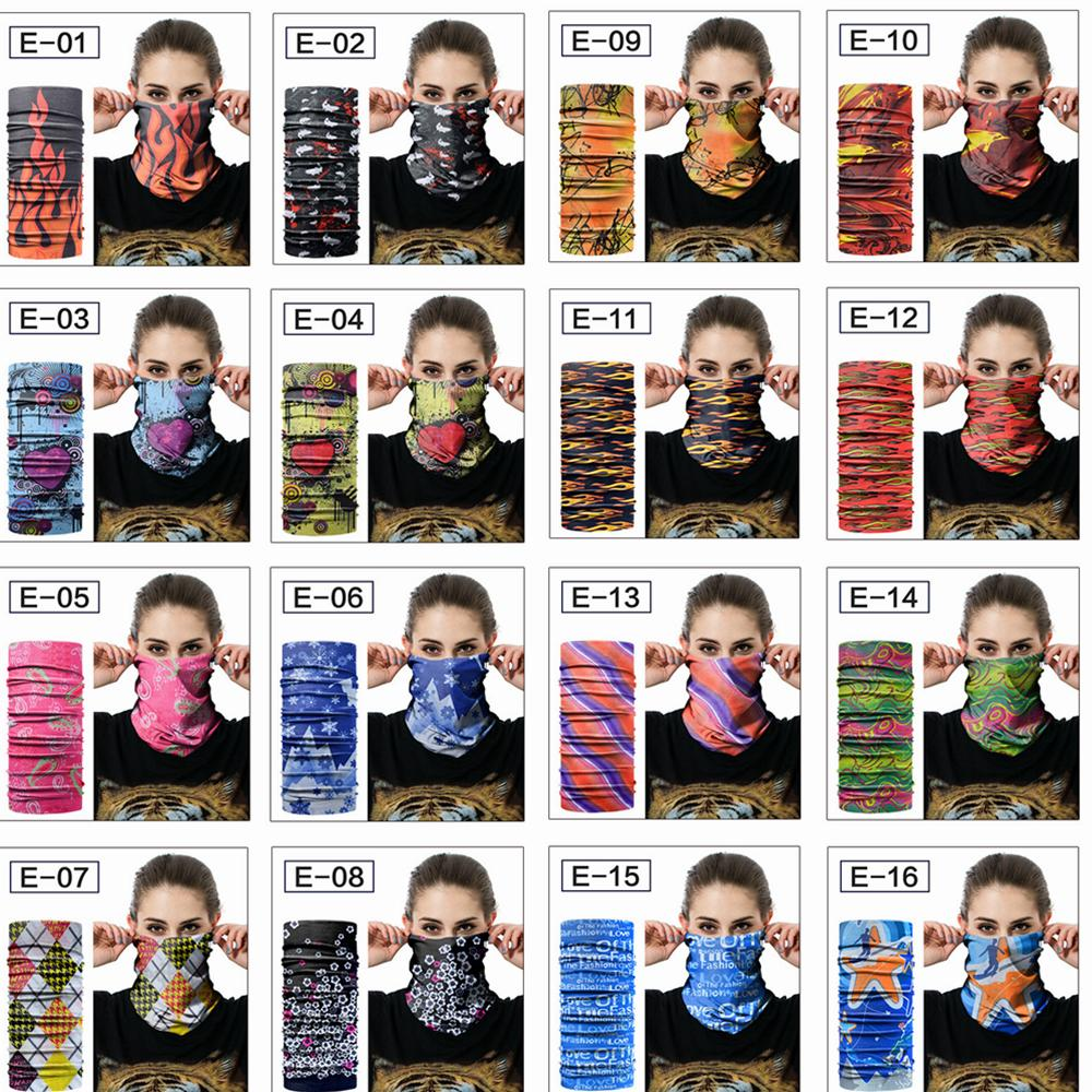 48 24cm Floral Magic Scarves Head Face Mask Snood Neck Cycling