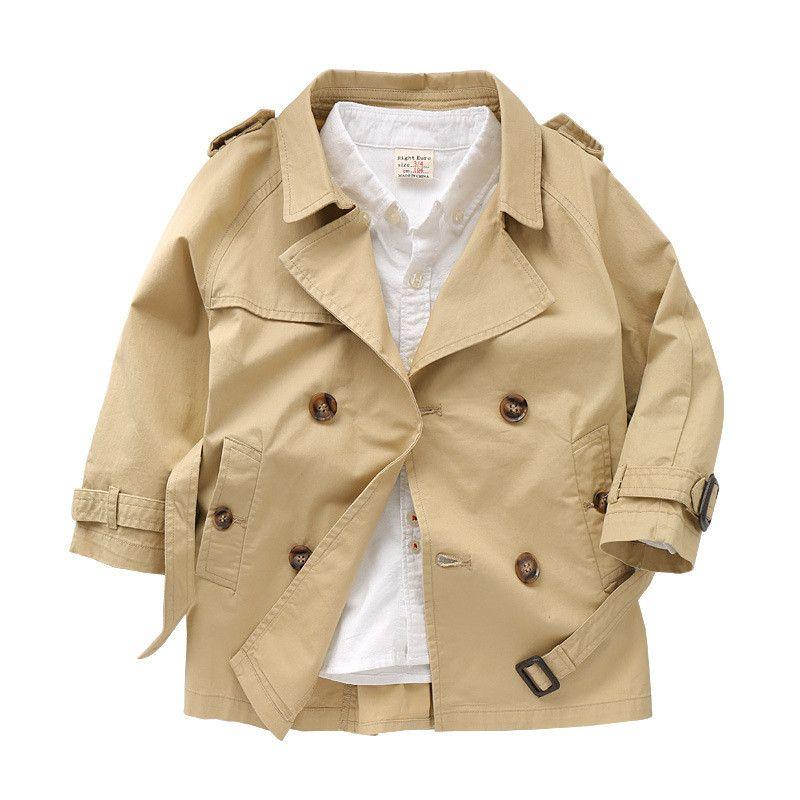 da4baf74c Children New Windbreaker Baby Boys Clothes Clothing Kids Double ...