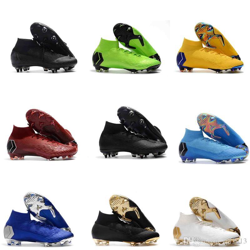 Compre Mercurial Superfly VI 360 Elite Neymar FG Zapatos De Fútbol  Originales Botas De Fútbol Botas De Fútbol Para Hombre Tobillo Alto Al Aire  Libre Muchos ... ada953e15d0ab