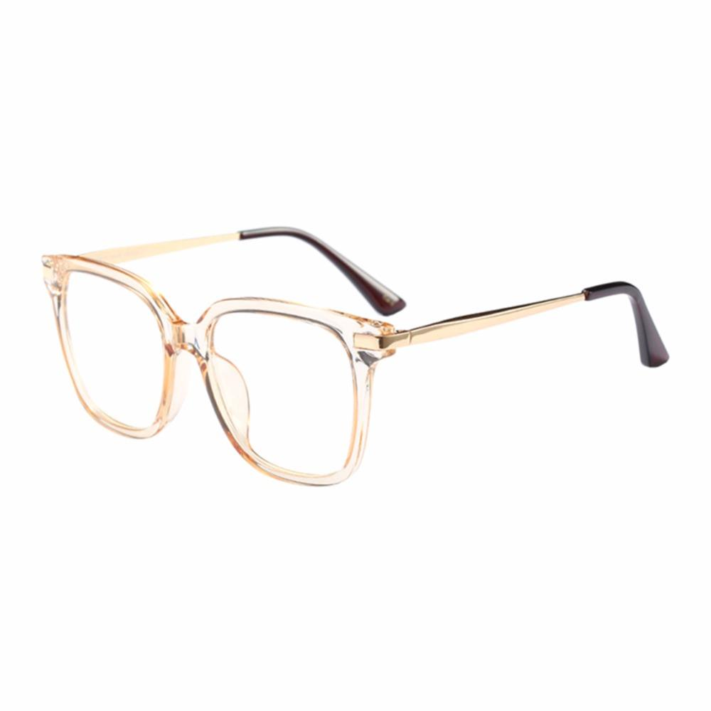 5e2a460645b Fashion Oversized Square Frame Ultralight Clear Lens Full Frame ...