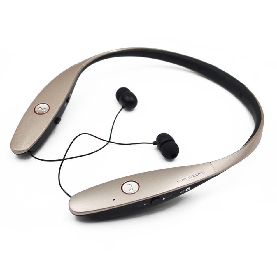 HBS 900 Bluetooth Auriculares Deporte Auriculares con banda para el cuello inalámbricos Auriculares estéreo in-ear HBS-900 Auriculares ajustables con paquete al por menor