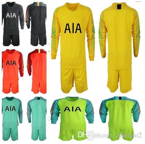 40d0c293217 2019 2018 2019 Soccer Jersey Long Sleeve KANE LAMELA ERIKSEN DELE SON Jersey  Football Kit Shirt Men LLORIS Goalkeeper Uniforms Set From Zhuhao2, ...