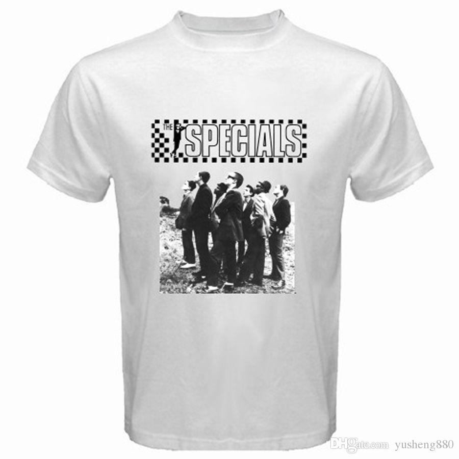 dc5757cdbb5 Screen Printing T Shirts O Neck The Specials 2 Tone Ska Band Music Men'S  White T Shirt Sizes S To 3XL Men Short Buy Shirts Online Print Shirts From  ...