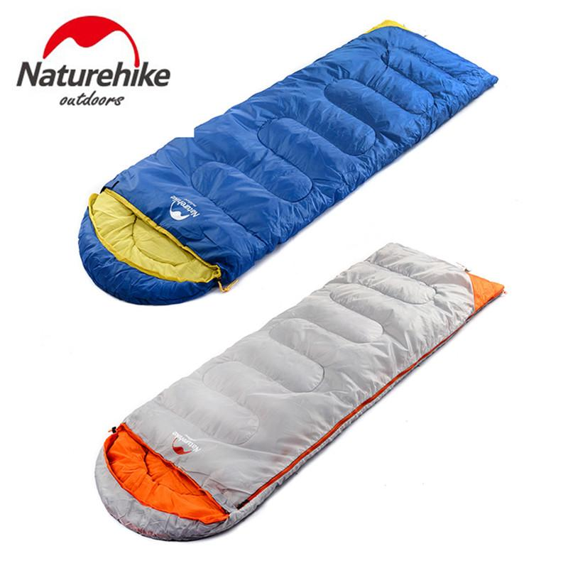 Ultra Light Down Sleeping Bag Adult Outdoor Camping Duck Down Sleeping Bag Autumn/winter Warm Splice Warm Hammock Double Zipper Sleeping Bags