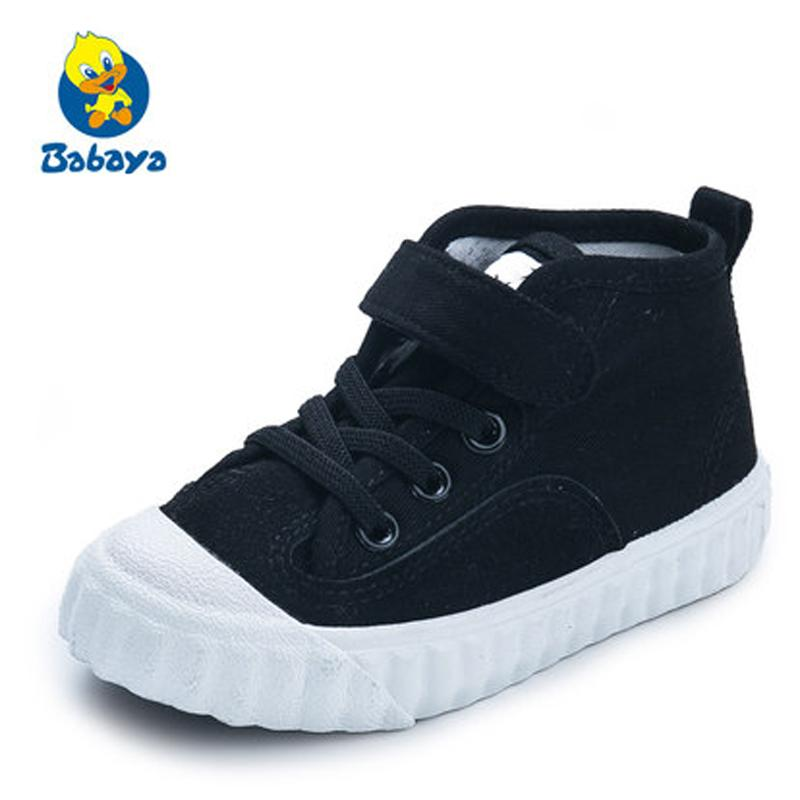 c2f0683c 2018Spring Autumn Kid Canvas Shoes New Fashion Boys And Girls High Quality  Casual Breathable Flats Children Sneakers Big Kids Shoes Dress Shoes For  Toddler ...
