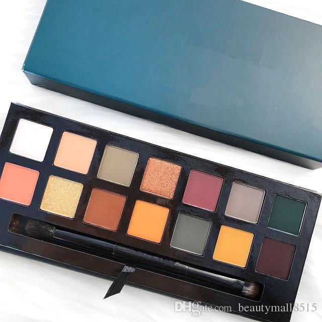 Vendita calda Cosmetici Eye Shadow Palette e opaco / Shimmer Pressed Eyeshadow Pigmentato Pigmentato Polvere Migliore Qualità Impermeabile Eye Makeup GRATUITA
