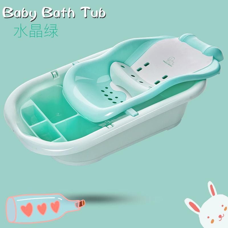 2018 Newborn Infant Baby Bath Tub Seat Adjustable Baby Bathtub Bed ...