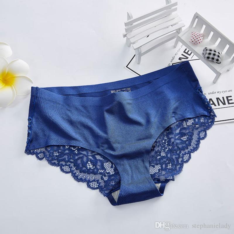 807e4ea3681 Women Underwear Briefs Sexy Women s Panties Transparent Lace Seamless  String Plus Size Sexy Women Underwears Panty