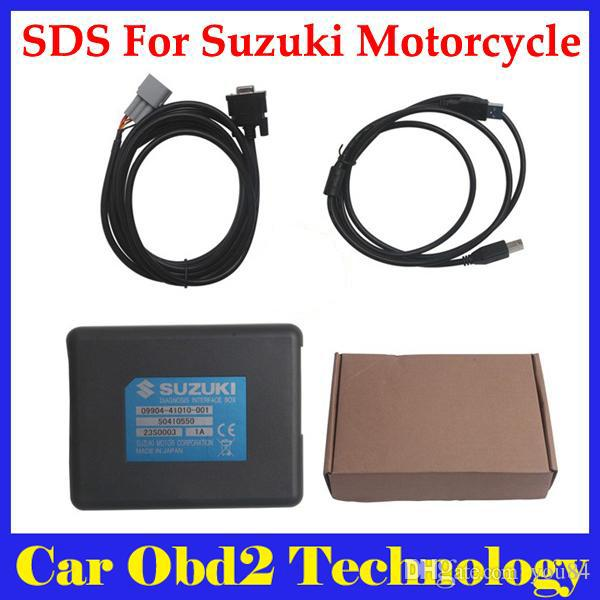 SDS For Suzuki Motorcycle Diagnosis System tool Support Multi-Language  diagnostic-tool via DHL free