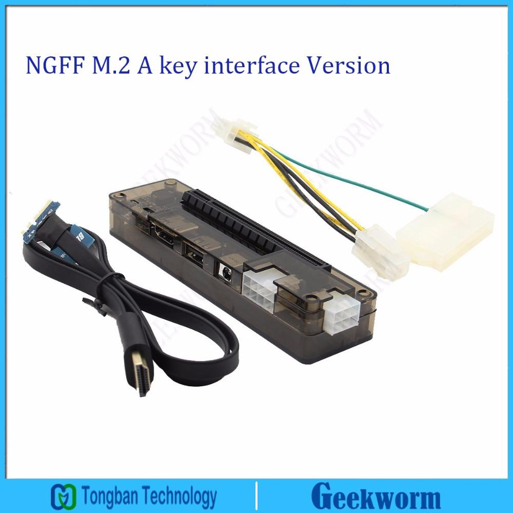Ie Pci E Express Card Laptop Exp Gdc External Independent Wiring Diagram Video Dock Ngff M2 A Key Interface Version From Xbye 7785