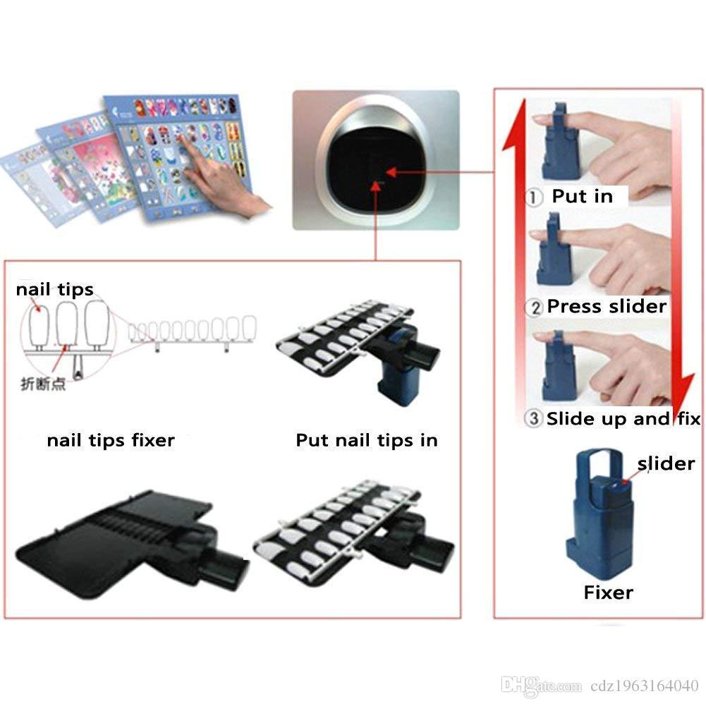 O2NAILS Otomatik tırnak boyama makinesi V11 İşlevli Mobil Wifi Kolay Tüm-Akıllı 3D Tırnak Yazıcılar Video Tırnak salonu Için Öğretmek