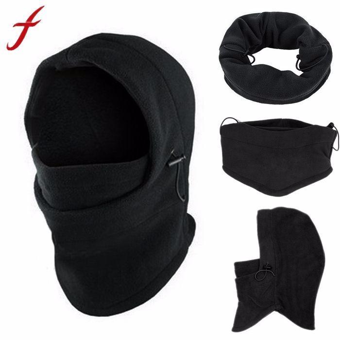Fleece Hood 6 In1 Winter Hat Men Skullies Beanies Hats For Men Women Wool  Scarf Mask Hat Caps Balaclava Beanie Knitted Male Custom Beanies Crochet  Beanie ... 9555eb2b41c8
