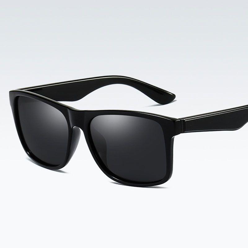 d8d9c5e1351dc Compre Novo Design Quadrado Polarizada Óculos De Sol Das Mulheres Dos Homens  De Condução De Moda Unisex Óculos De Sol Retro Masculino Óculos De Proteção  ...
