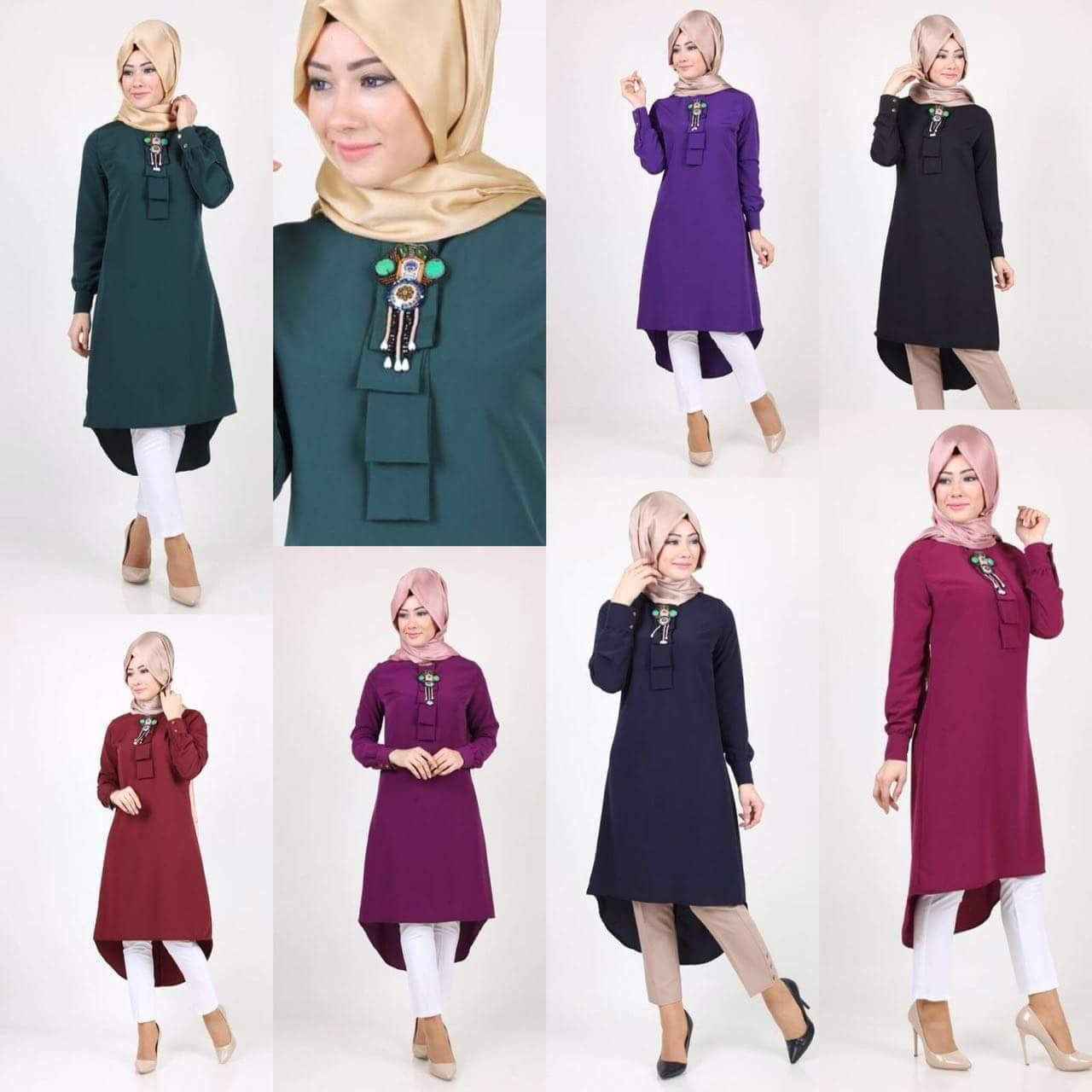 4c861aa05581b Good Quality Tunic Jubah Plus Size Malaysia Casual Tops Fashion Muslim  Clothing Long Sleeve Swallow-tailed Loose Women Blouse 50  Loose Women  Blouse Good ...