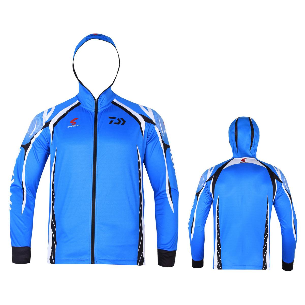 dc5cde60d288 New Fishing Clothes 2018 New Fishing Shirt Zipper Breathable Quick Dry  Anti-uv Long Sleeve Fishing Clothing Hiking Shirts C18111401 Online with   25.79 Piece ...