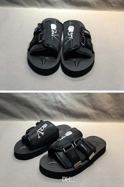 a87c90b0b26 Original Box 2018 New Mens Flip Flops Sandals Mens Campus Tide Brand  Slippers Womens Casual Sandals Famous Brand Sandals Dansko Sandals Tall  Gladiator ...