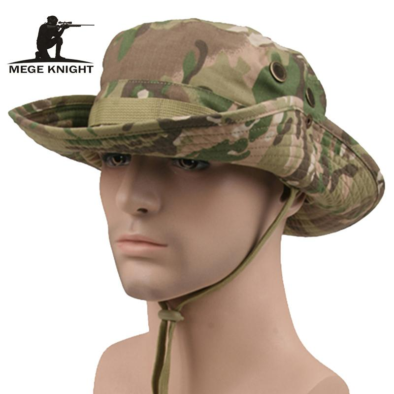 bbbd0d694f9a0 2019 Tactical Airsoft Sniper Camouflage Boonie Hats Nepalese Cap Militares  Army Mens American Military Accessories Sun Caps Bucket Hats From Soutong
