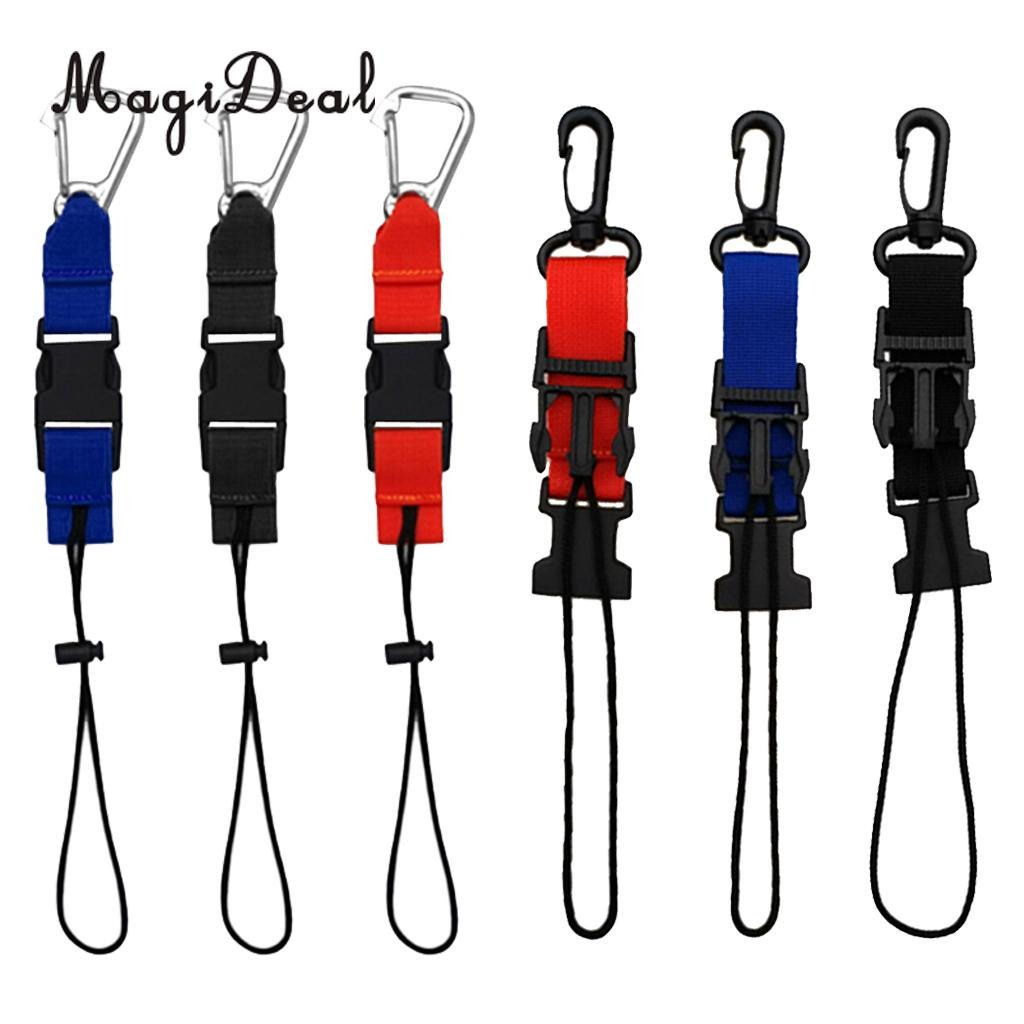 2018 Magideal Scuba Diving Lanyard Webbing Strap With Clip And Quick Circuits Webbib Release Buckle For Underwater Cameras Dive Lights From Newhappyness