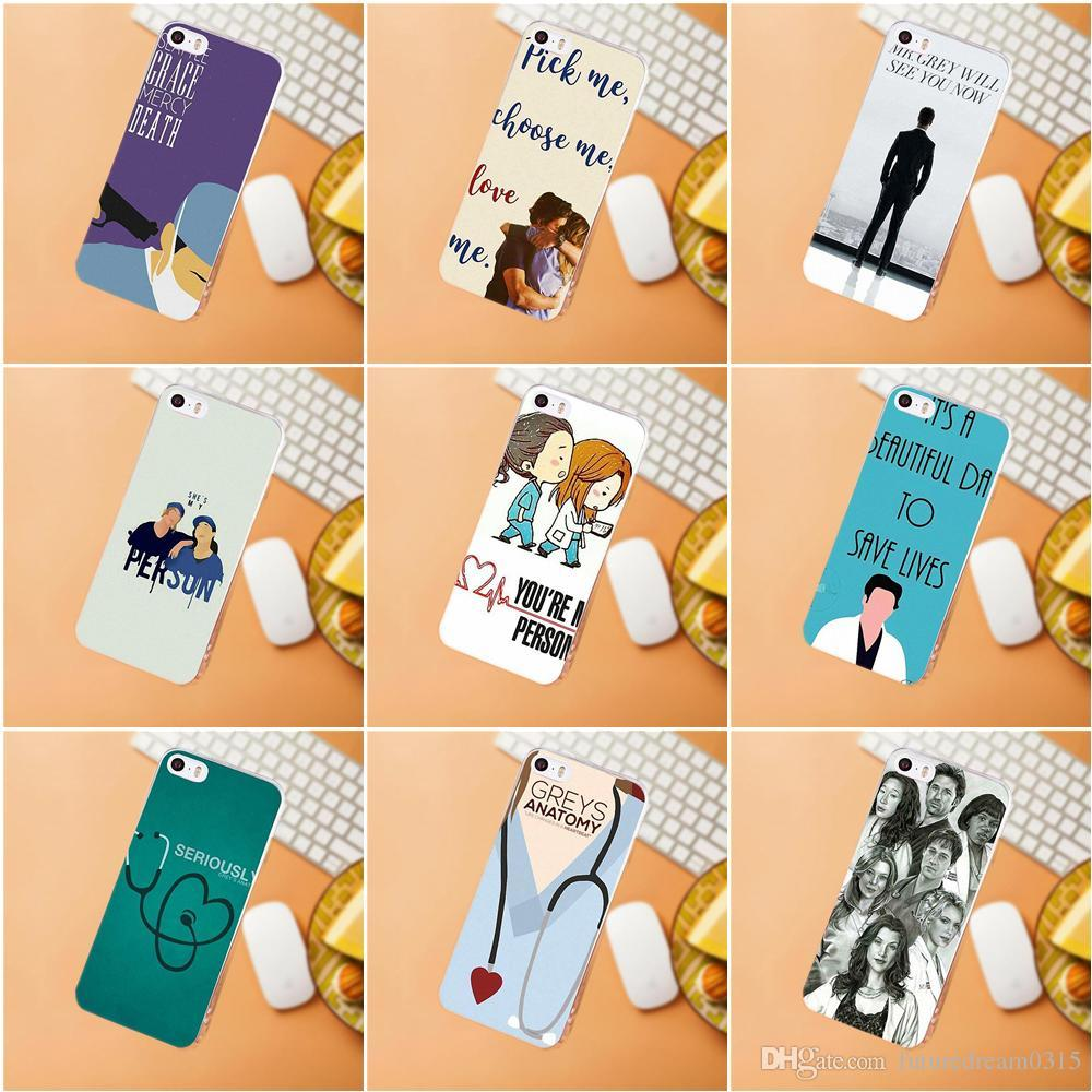 Tv Show Greys Anatomy Tpu Mobile Phone Case Cover For Iphone X 8