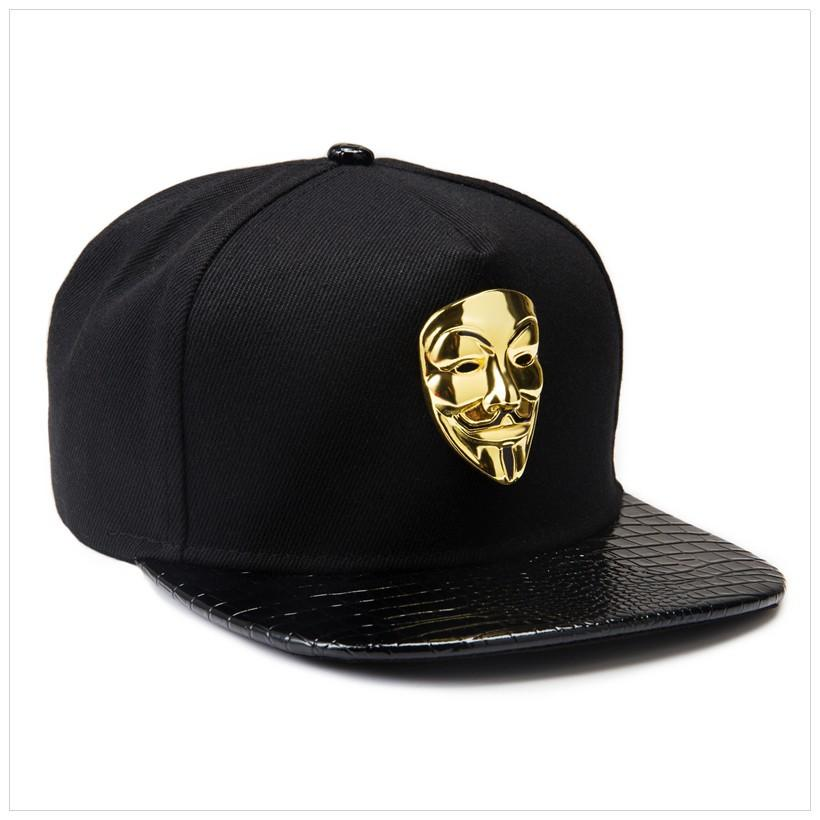 2018 Bling V Cap Popular Vendetta Baseball Caps Flat Brim Snapback Cap Hip  Hop DJ Hats Men Women Fashion Couples Hat Adjustable Sport Hat Baseball Caps  For ... 6294a23e261