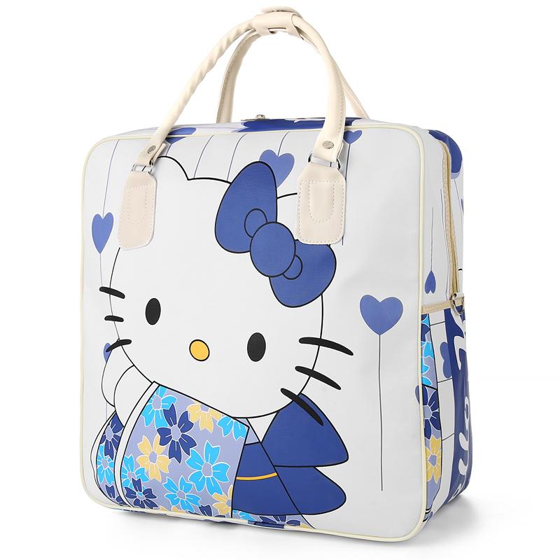 d5bbc3fb4 Hot Hello Kitty Female High Capacity Luggage Bag Fashion Travel Bags  Weekend Travel Large Tote Bags Casual Crossbody Duffle Bag Buy Bags Online  Bags Online ...