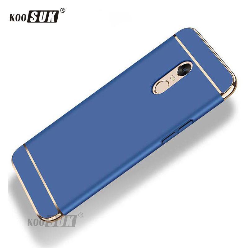 buy popular a3395 04ff3 Xiaomi Redmi 5 5Plus Proteger la contraportada Redmi5 Plus Pro Funda de  teléfono Coque Fashion Stitching Pegar la carcasa PC antideslizante chapada  ...