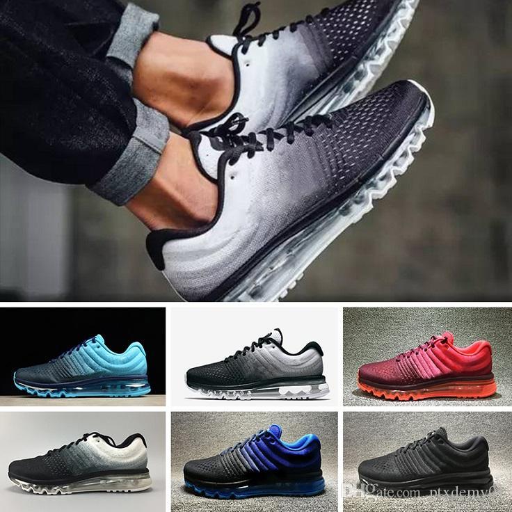 finest selection de004 27285 Compre 2017 Nike Air Max 2017 Running Shoes Nuevo 2018 KPU II Descuento  Precio Hombres Mujeres Zapatillas Con Zapatillas De Deporte De Moda De  Calidad ...