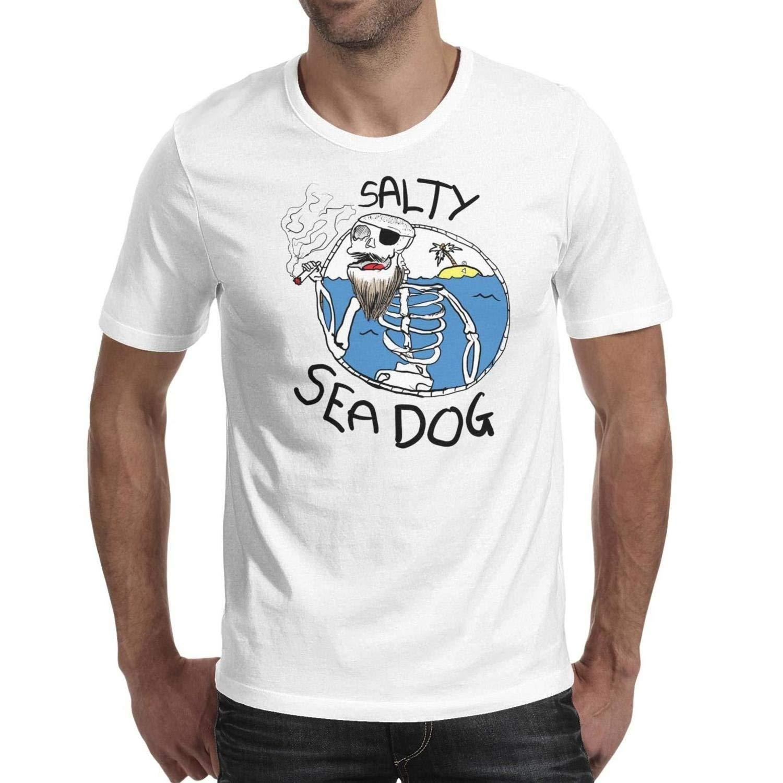 9be7deaab Funny Men's White Tee Shirts Rose Sugar Skull O - Neck Short Sleeve Cotton  Cool Funny T-shirt Men High Quality Tees